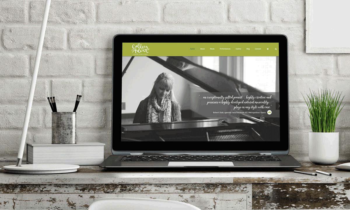 Colleen Adent WordPress Website • 237 Marketing + Web