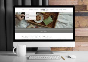 Atticus Hotel WordPress Website • 237 Marketing + Web