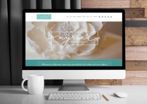 Myriad Cake Design WordPress Website • 237 Marketing + Web