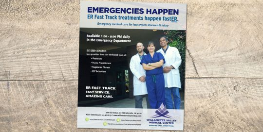Willamette Valley Medical Center Advertising • 237 Marketing + Web