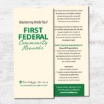 First Federal Collateral Materials • 237 Marketing + Web