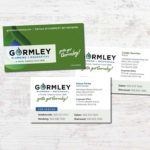 Gormley Plumbing + Mechanical Business Cards • 237 Marketing + Web
