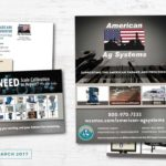 American Ag System Sales Sheet and Direct Mail • 237 Marketing + Web