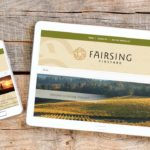 Fairsing Vineyards WordPress Website • 237 Marketing + Web