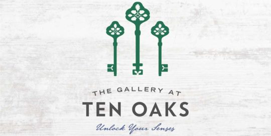 The Gallery at Ten Oaks Logo • 237 Marketing + Web