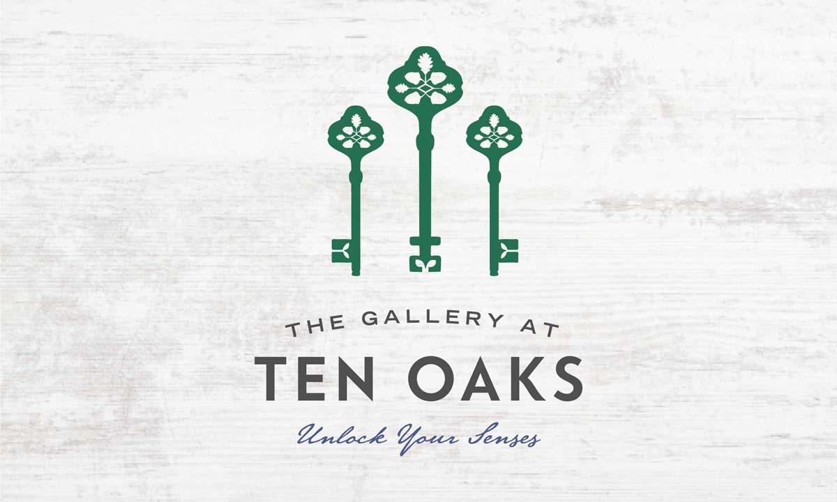 The Gallery at Ten Oaks Logo • 237 Marketing + Web