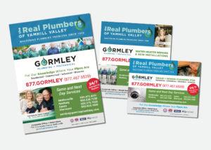 Gormley Plumbing + Mechanical Advertising • 237 Marketing + Web