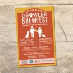 Growler Brewfest Promotional Materials • 237 Marketing + Web