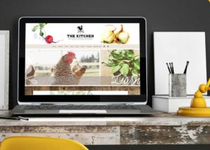 The Kitchen at Middleground Farms WordPress Website • 237 Marketing + Web