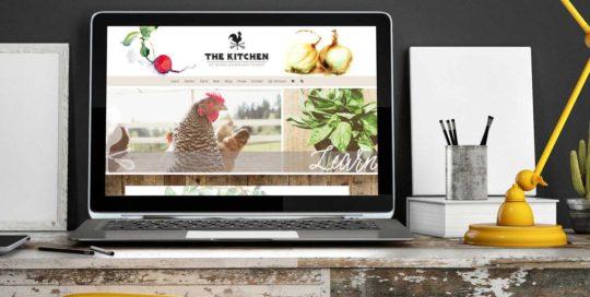 The Kitchen at Middleground Farms WordPress Website • 237 Marketing + Web