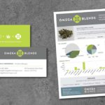 Omega Blends Business Communications and Tech Sheet • 237 Marketing + Web