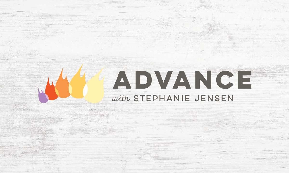 Advance with Stephanie Jensen Logo • 237 Marketing +Web