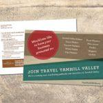 Travel Yamhill Valley Membership Postcard • 237 Marketing + Web