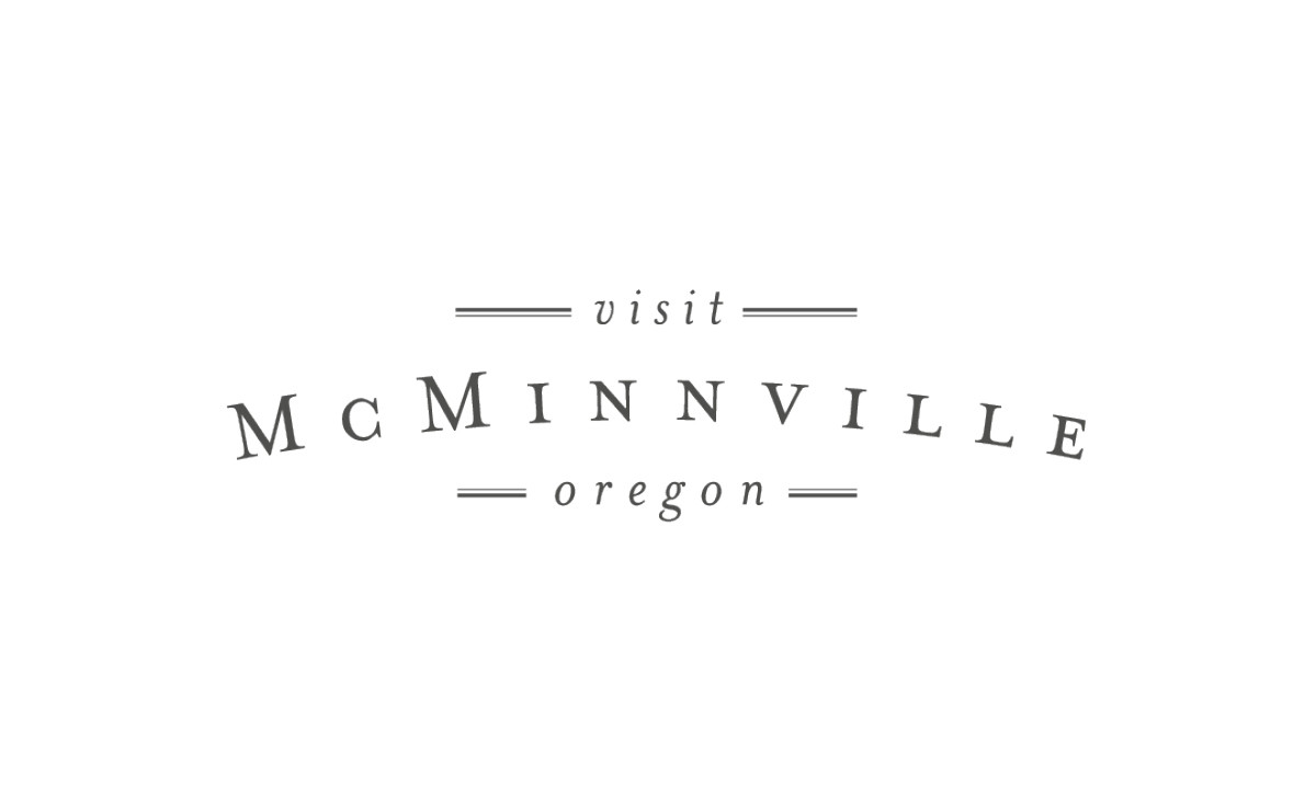 Visit McMinnville Logo • 237 Marketing + Web