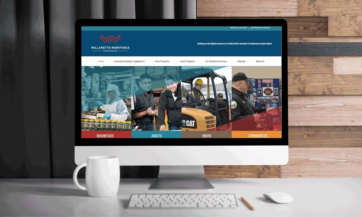 Willamette Workforce Partnership formerly Incite Website • 237 Marketing + Web