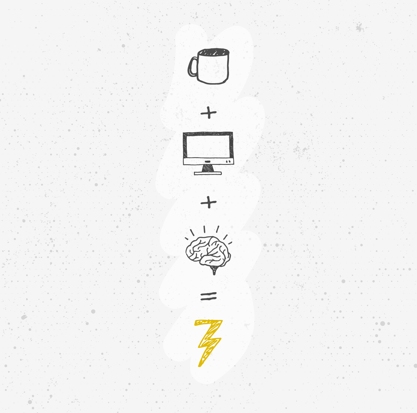Coffee + Technology + Brain power = A 237 Marketing + Web Flash of Lightning