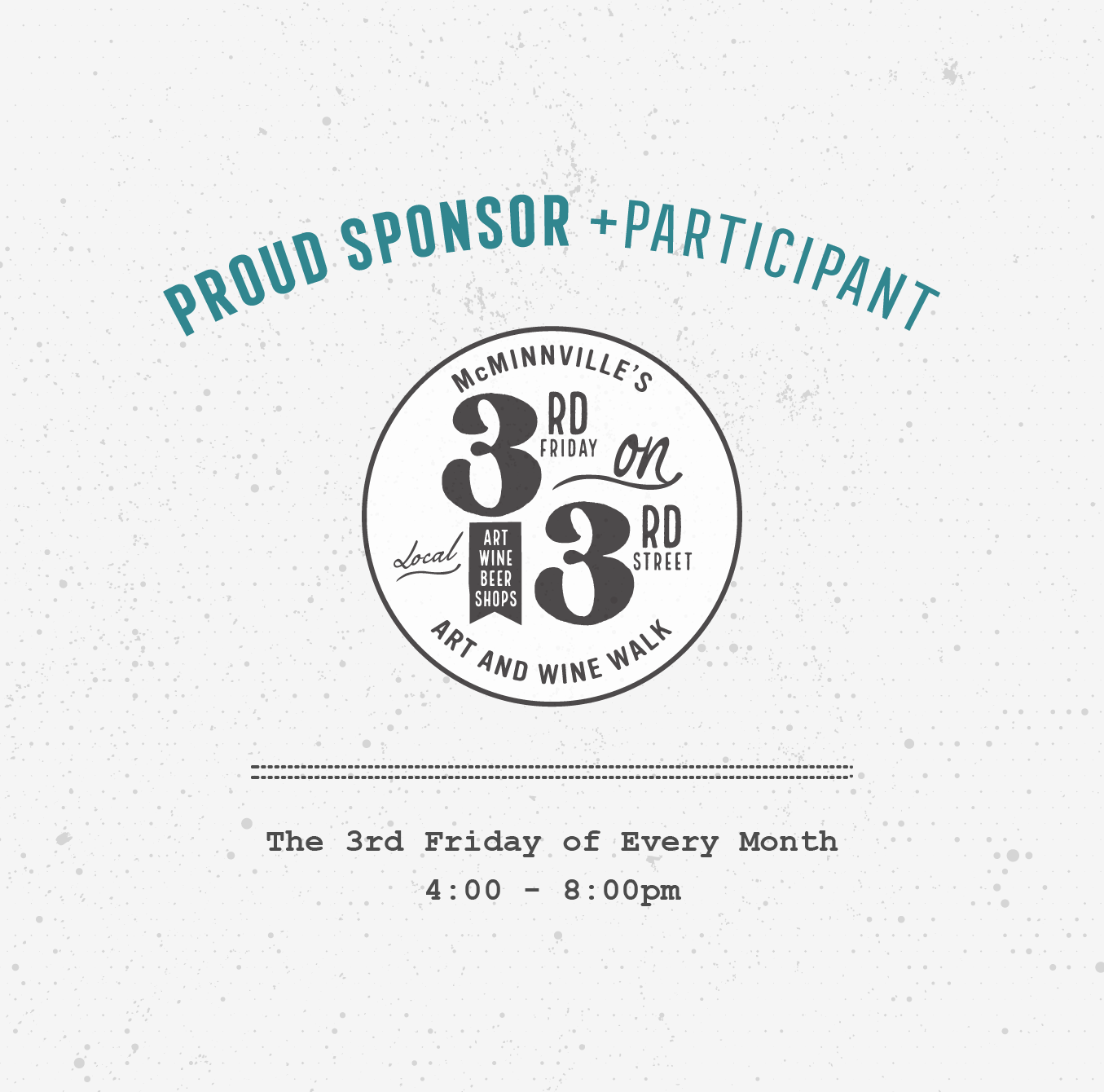 Proud Sponsor + Participant of 3rd Friday on 3rd Street • 237 Marketing + Web