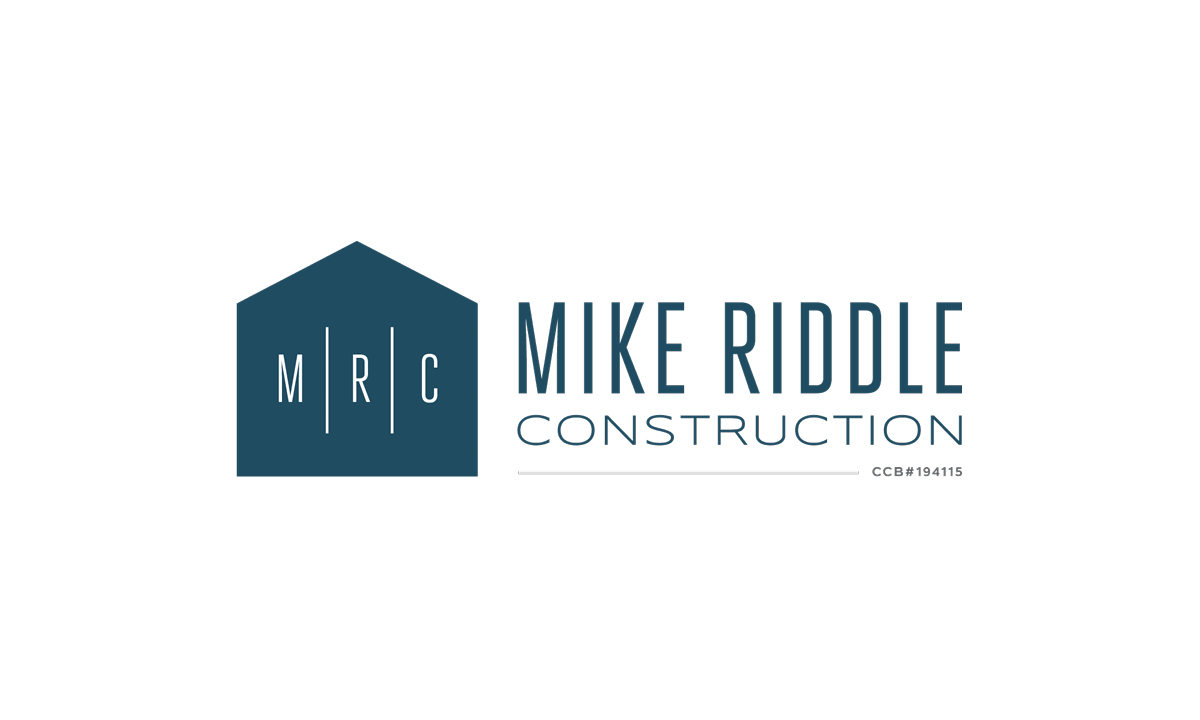 Mike Riddle Construction Logo by 237 Marketing + Web