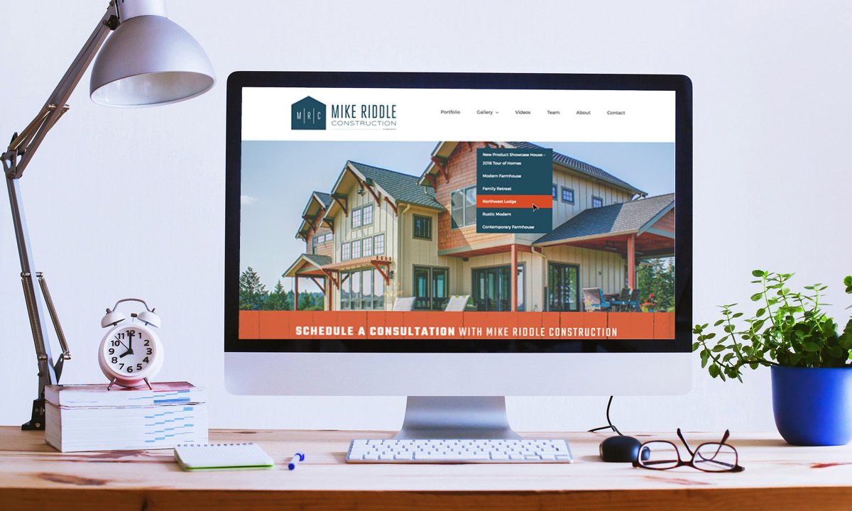 MikeRiddleConstruction.com by 237 Marketing + Web