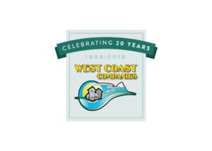 West Coast Seed Mill Supply Company - 20th Anniversary Logo