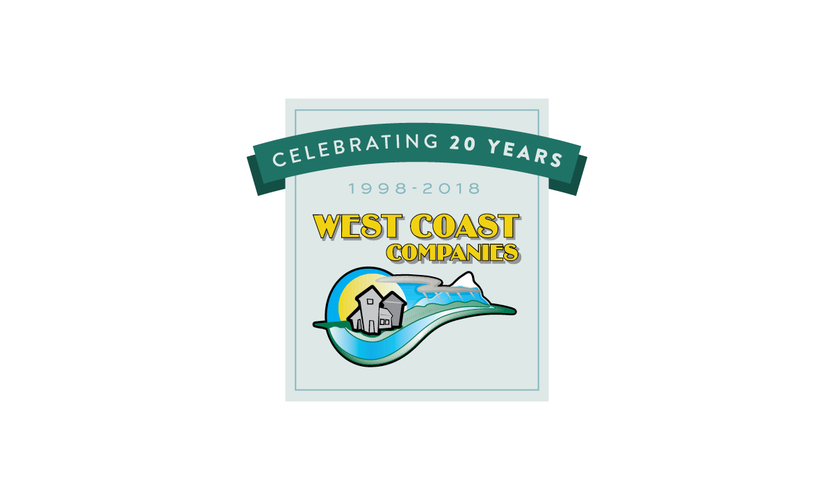 West Coast Seed Mill Supply Company - 20th Anniversary Logo