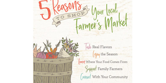 5 Reasons to Shop Your Local Farmers Market