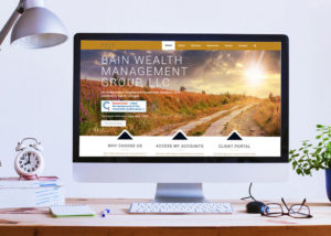 BainWealthManagement.com built on WordPress by 237 Marketing + Web