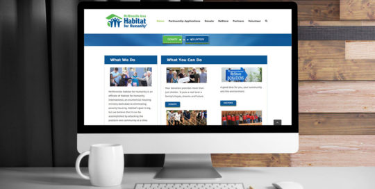 McMinnville Habitat for Humanity WordPress Website by 237 Marketing + Web