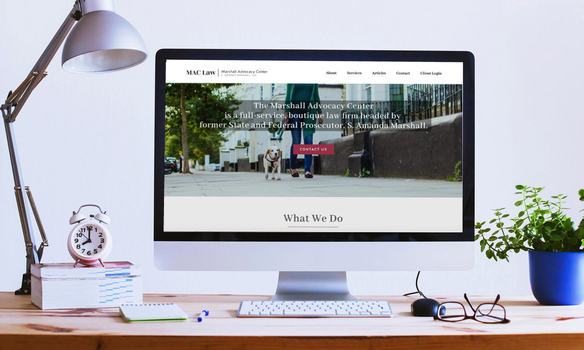 MAClaw.law built by 237 Marketing + Web
